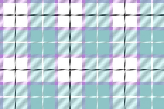 紫色绿色玫红色格子布背景图