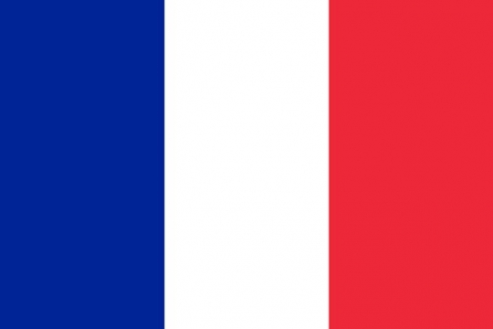 标准版法国国旗图片素材