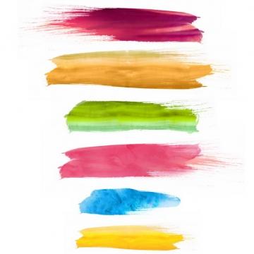 彩色涂鸦油墨水彩色块420234png图片免抠素材