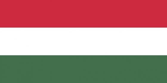 标准版匈牙利国旗图片素材